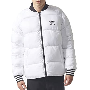 adidas Originals Men's Superstar Reversible Jacket White