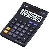 Casio MS-8VERII Professional/Desk Display Calculator, Battery, Solar Energy Driven, Tilted Display