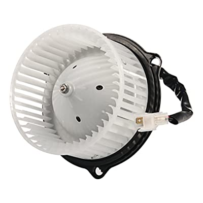 AC Blower Motor with Fan - Replaces 4778417, 5015866AA - Fits 1994-2002 Dodge Ram 1500, 1994-2002 Ram 2500, 94-02 Ram 3500 & 1993-1998 Jeep Grand Cherokee - Replacement AC Heater Fan Assembly: Automotive