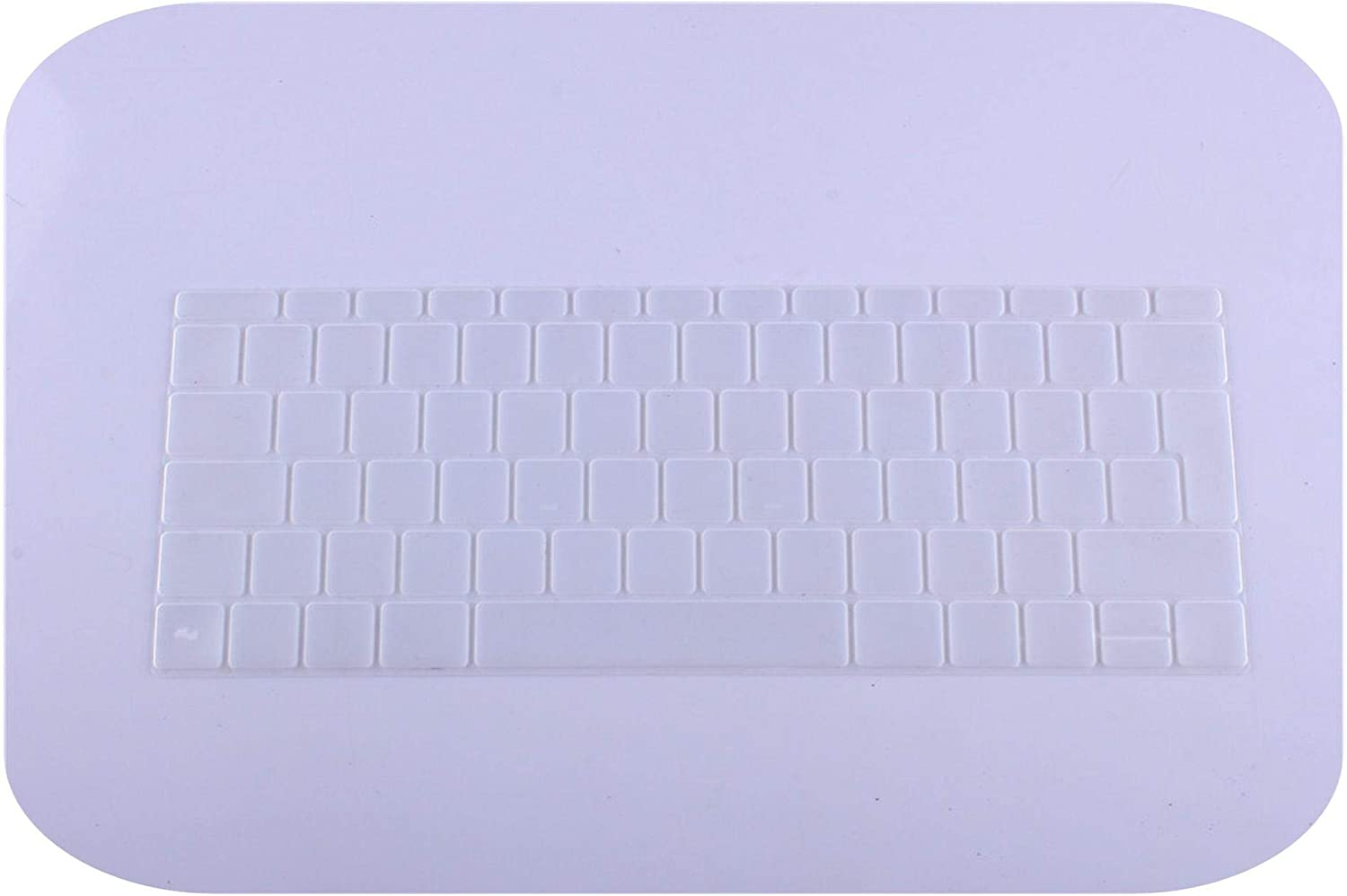 Spanish EU Silicone Keyboard Protector Cover Skin Protective Film for Mac Book 12 inch pro13 Colorful Keyboard Film Spain-H