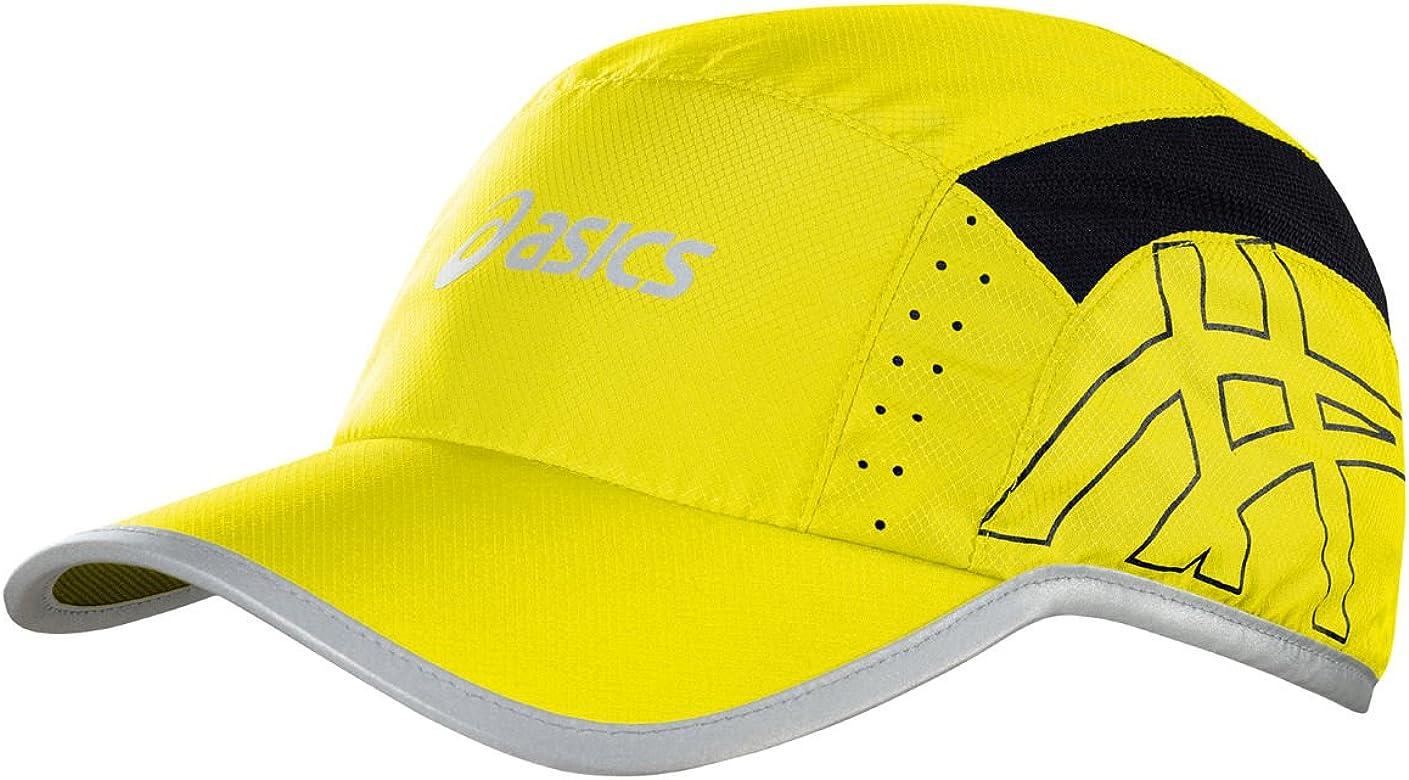 ASICS Blazing - Gorra con Visera para Running, Color Amarillo ...