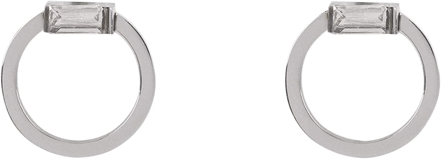 Parfois - Pendiente Stainless Steel Silver - Mujeres