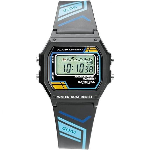 Reloj Digital Cannibal Active para Niños Multifunción y con Correa de Goma CD079-03: Amazon.es: Relojes