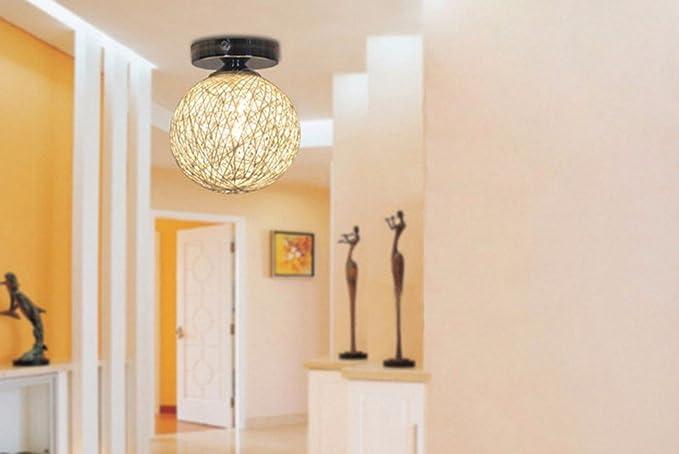 XHOPOS HOME LED random lámparas de techo tejeduría pasillos ...