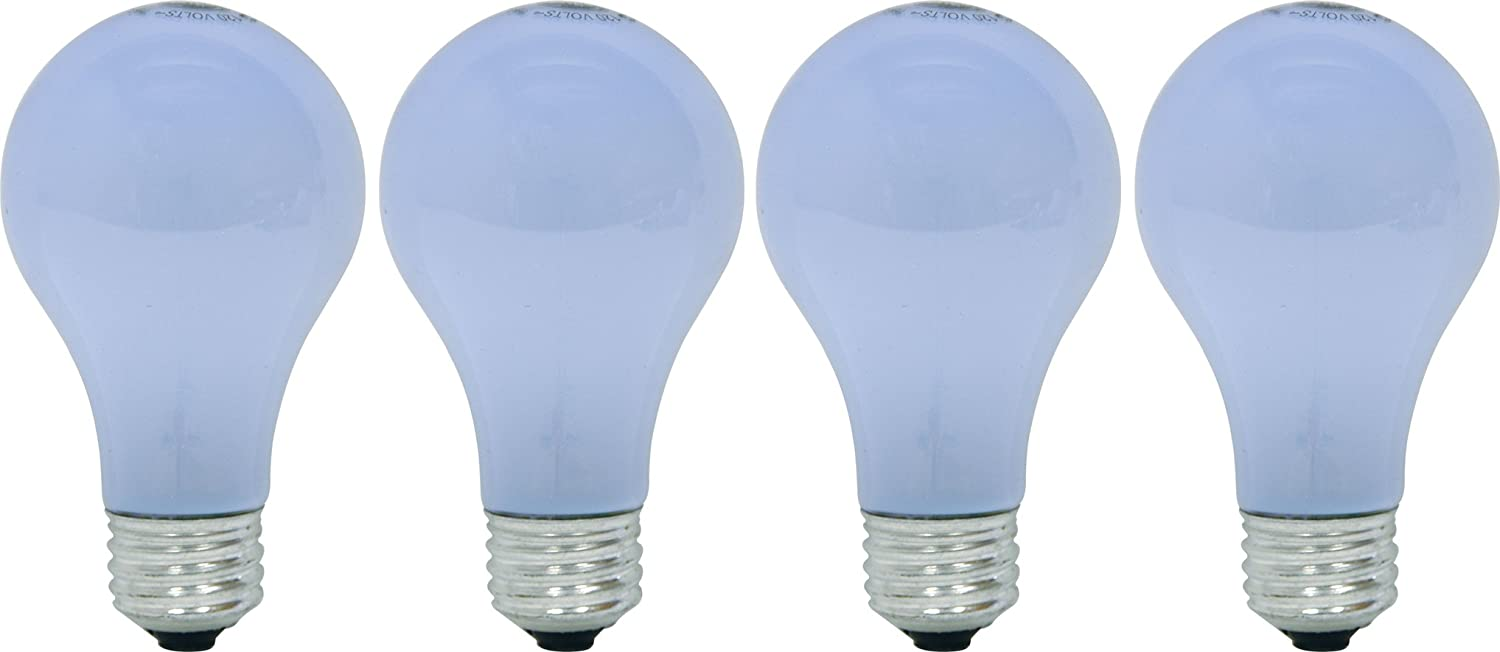 GE Lighting 67774 Reveal 72-Watt, 1120-Lumen A19 Light Bulb with Medium Base, 4-Pack