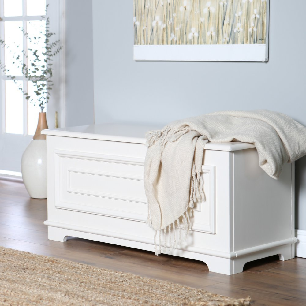 Belham Living Surveyor Cedar Chest (Ivory) by Belham