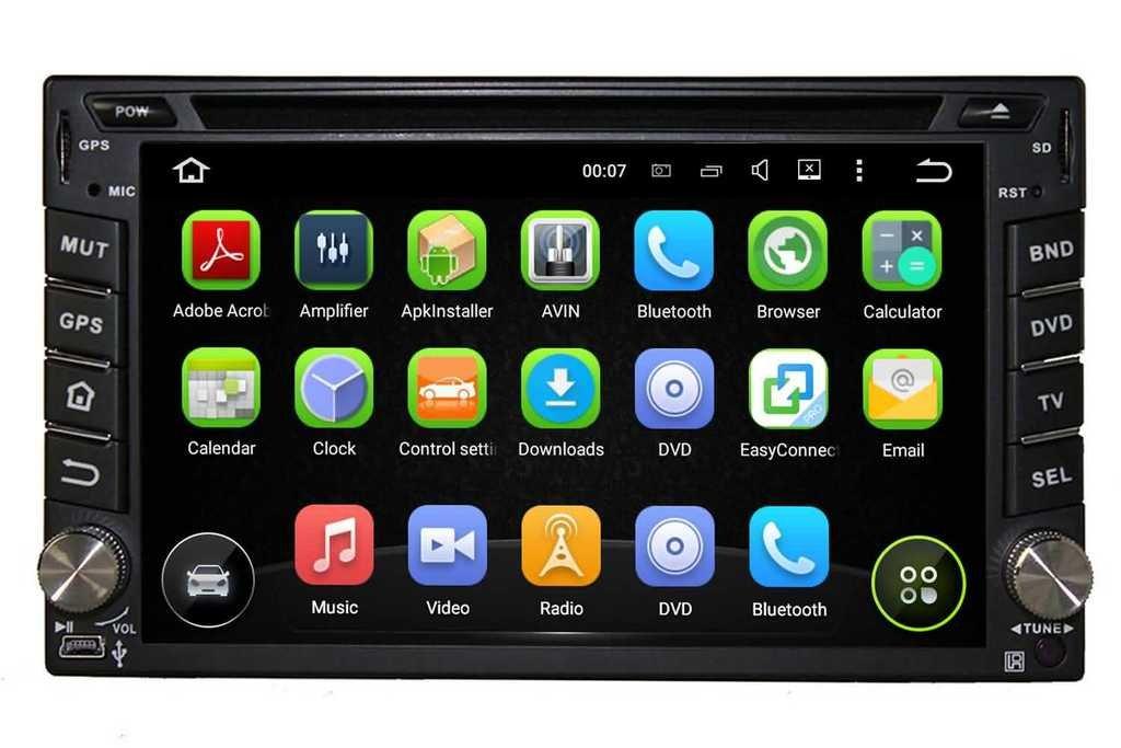 2 Din 6.2 pouces Android 5.1.1 Lollipop stéréo de voiture pour Nissan X trail 2001 2002 2003 2004 2005 2006 2007 2008 2009 2011,DAB+ radio 800x480 écran tactile capacitif avec Quad Core Cortex A9 1.6G CPU