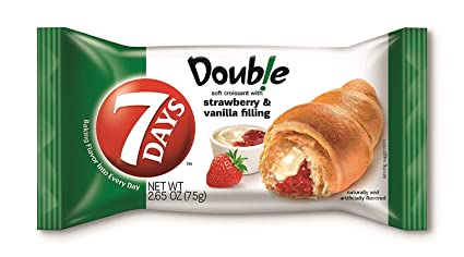 7Days Soft Croissants Dulche De Leche with Caramel Flavor Filling, 2.65oz (Pack of 12, Total of 31.8 Oz): Amazon.com: Grocery & Gourmet Food