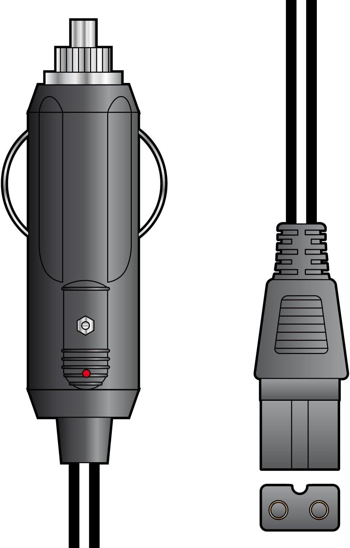 Skytronic 2/m 12/V DC Enfriador Caja alargador