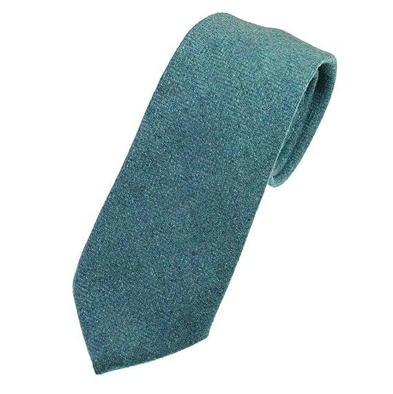 579e09333e6f Mineral Blue Light Herringbone Tweed Tie: Amazon.co.uk: Clothing