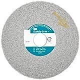 Scotch-Brite(TM) EXL Deburring Wheel, Aluminum Oxide, 6000 rpm, 6 Diameter, 1 Arbor, 8A Medium Grit (Pack of 4)
