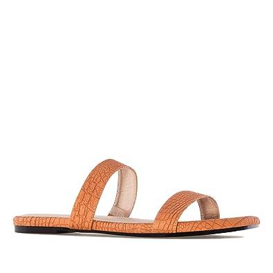 13743505270c20 Andres Machado.AM5238.Sandales Plates Serpent.pour Femmes.Grandes ...