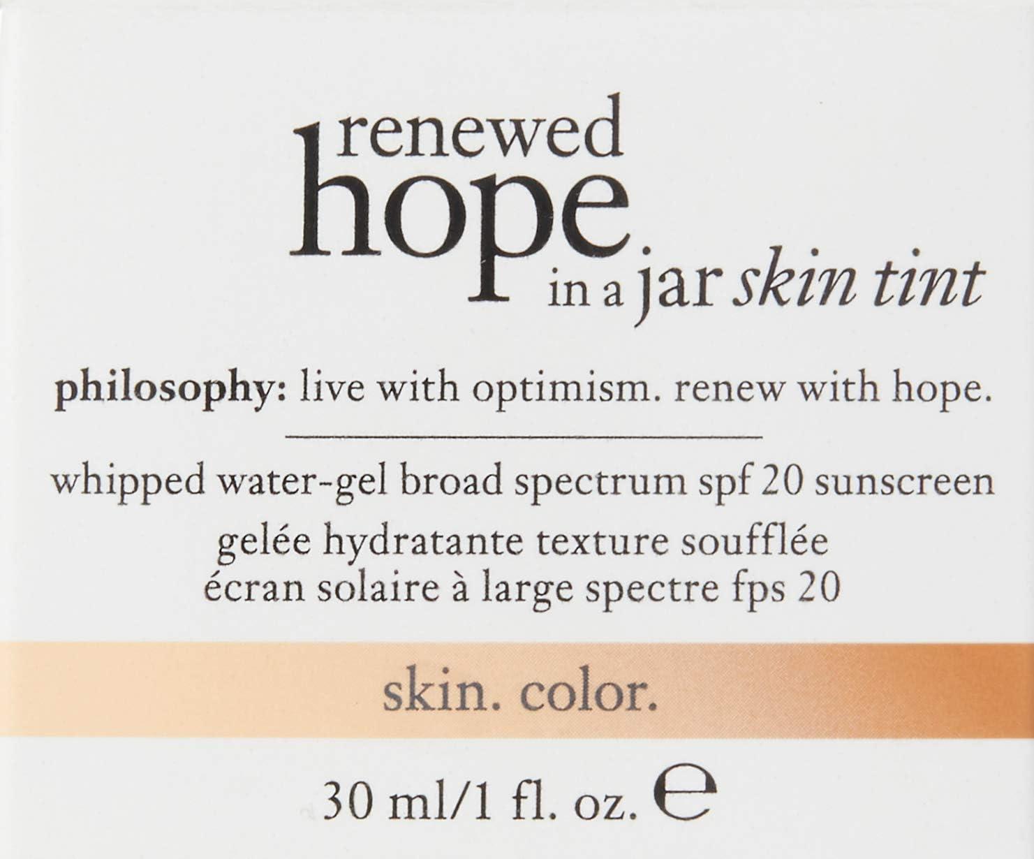 Renewed Hope In A Jar Skin Tint by philosophy #18