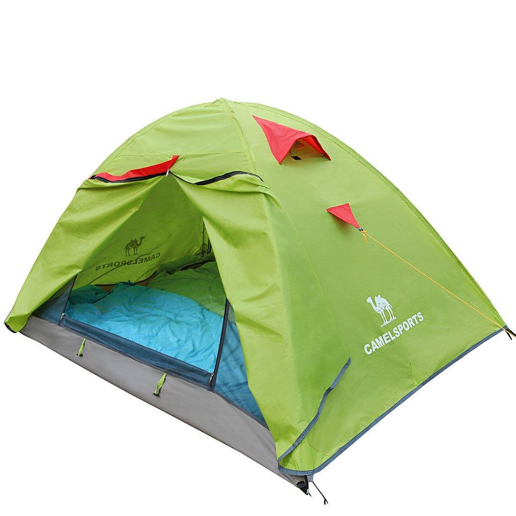 Outdoor-Camping-Zelt Doppelstock Zelt Picknick im Freien Viertel gegen Sturm