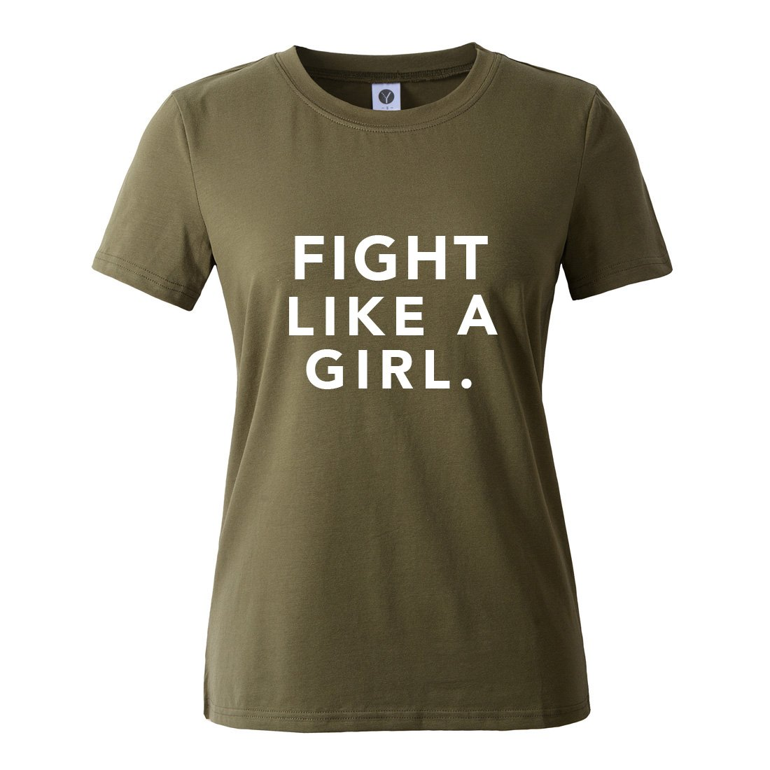 BLACKMYTH Mujer Casual Camisetas para Estampar Redondo Graphic Tees Manga Corta Se/ñoras T-Shirt