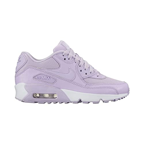 Zapatillas Nike - Air Max 90 Se Mesh (Gs) morado/morado/blanco talla: 36,5: Amazon.es: Ropa y accesorios