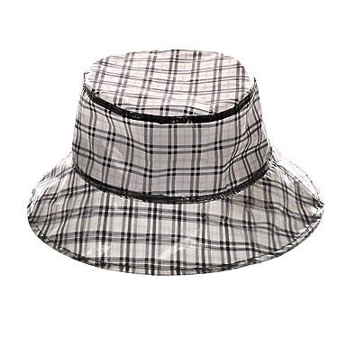7372f8ee596f22 A&O International Super Soft Haymarket Print PVC Bucket Hat Biege at ...