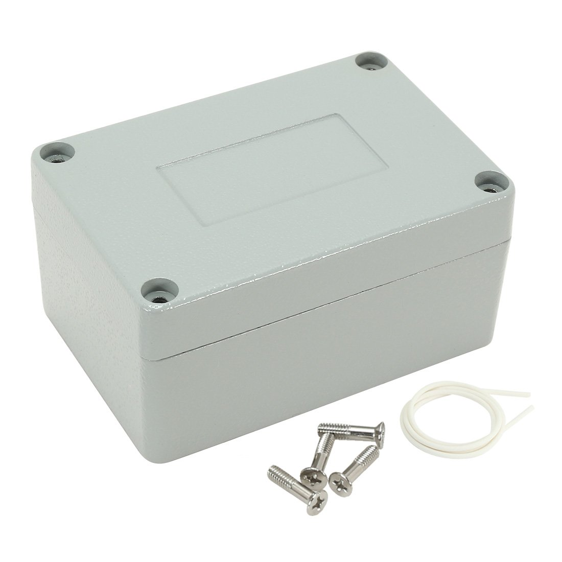 uxcell 3.9''x2.7''x2''(100mmx68mmx50mm) Aluminum Clamshell Junction Box Universal Electric Project Enclosure