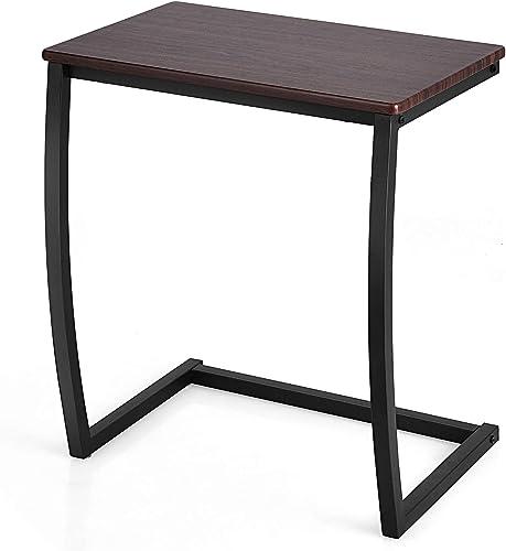 Tangkula Sofa Side C Table