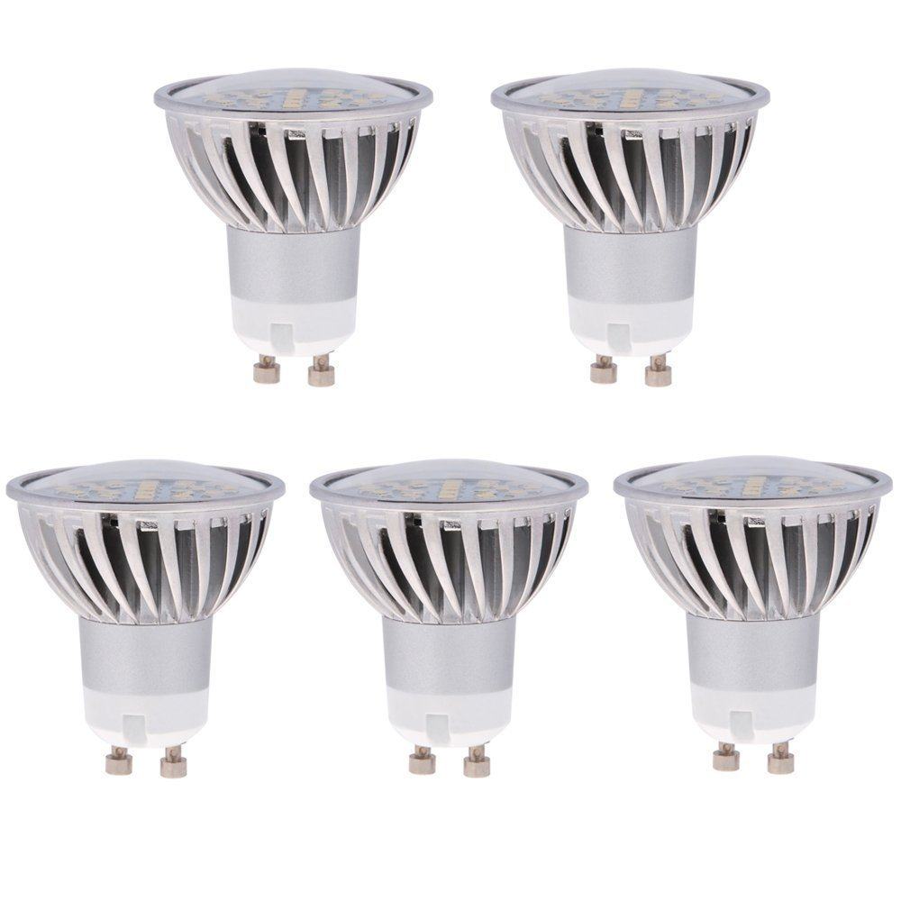 Mr16 Gu10 Led Bulbs Dimmable 7w 50w Equivalent 3000k: HERO-LED GU10-24S-WW MR16 GU10 LED 120V Halogen