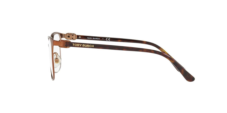 63657e64b87d Tory Burch Women s TY1053 Eyeglasses Bronze Dark Tort 51mm at Amazon Men s  Clothing store