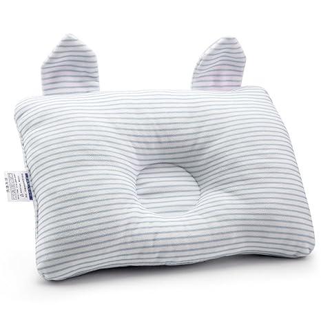 ZGJ - Cojín para bebé recién nacido, almohada de algodón ...