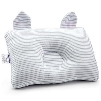 ZGJ - Cojín para bebé recién nacido, almohada de algodón para bebé ...