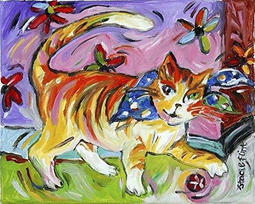 Wallmonkeys Tony Tiger Wall Mural by Stacie Flint (60 in W x 48 in H) WM304868