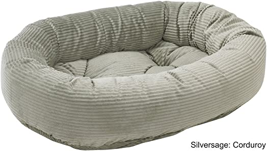 Bowsers Donut Bed, X-Small, Silver Treats