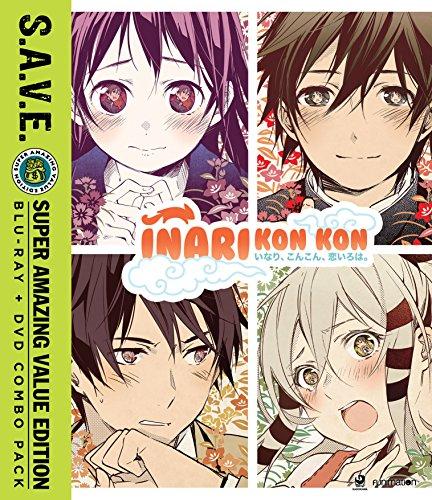 Inari Kon Kon: The Complete Series + OVA S.A.V.E.(SUB Only) (Blu-ray/DVD Combo