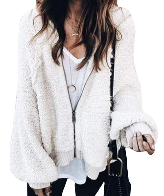 YUNY Womens Velvet Zips Relaxed Oversized Lantern Sleeve Coat Jacket Pattern1 XL