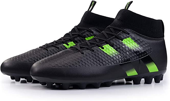 FCSHOES Men Soccer Cleats Boots Turf Soccer Shoes Hard Court Outdoor Sneakers