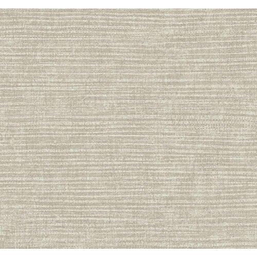 S6507 Modern Shapes Raffia Wallpaper, Silver, Taupe (Band Raffia)