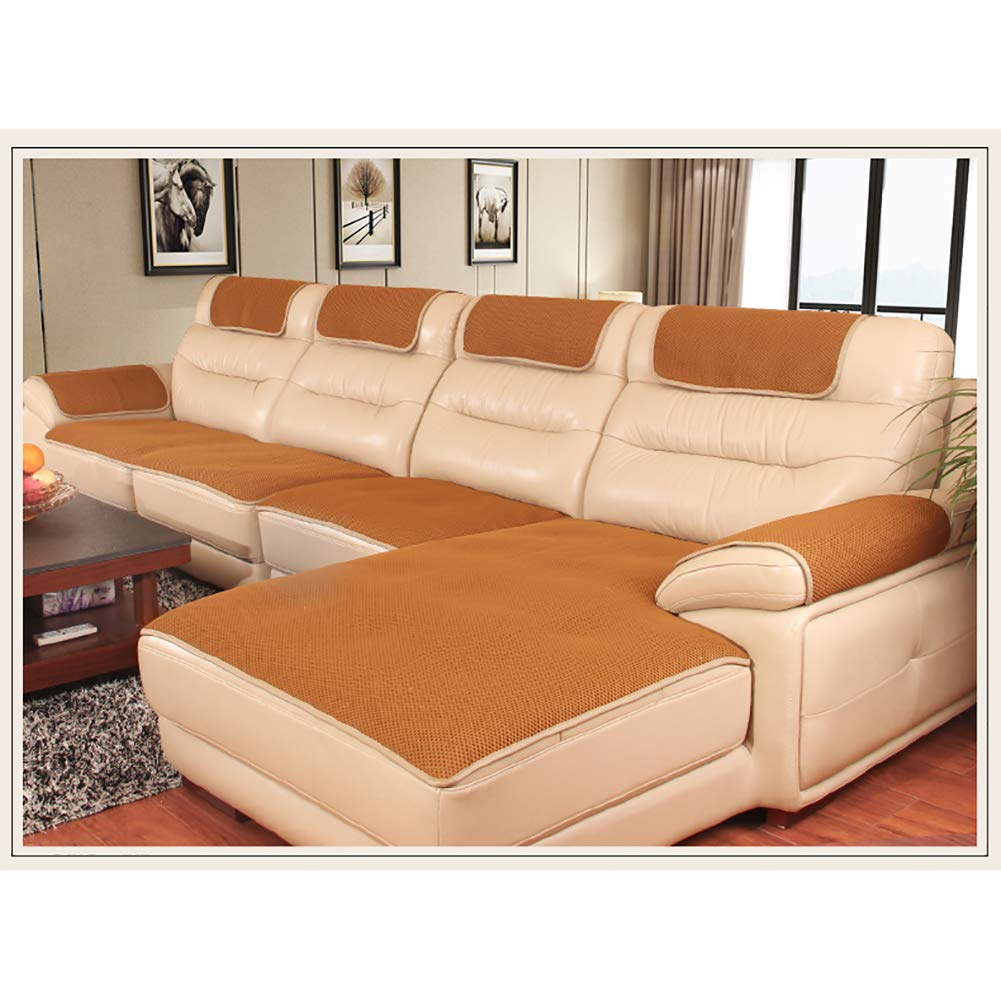 Amazon.com: YEARLY Grid Non-Slip Sofa Cover, Honeycomb Hole ...