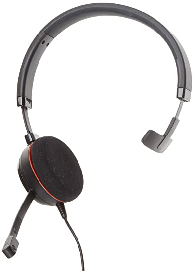 8b15dd64604 Jabra Evolve 20 Mono MS - Professional Unified Communicaton Headset:  Amazon.ca: Cell Phones & Accessories