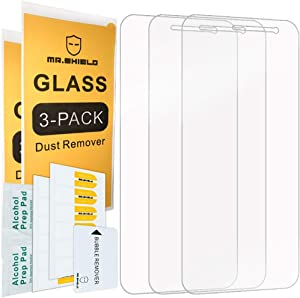[3-PACK]-Mr.Shield For Samsung (Galaxy J2 Dash) [Tempered Glass] Screen Protector with Lifetime Replacement