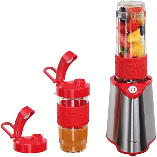 Domoclip licuadora individual rojo: Amazon.es: Hogar