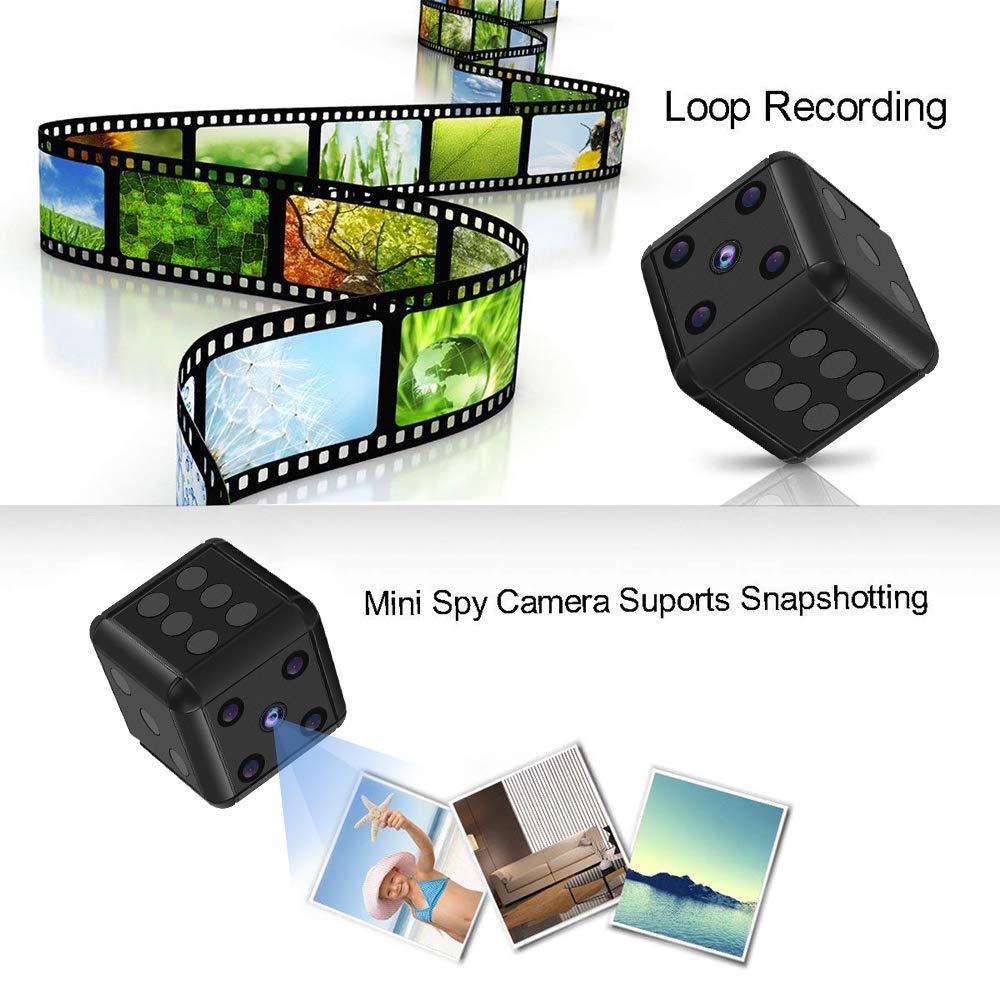 Mini cámara SQ16 HD Videocámara Visión Nocturna Dados Cámara de Video Gratis 1080p Cámara Deportiva Mini DV Grabadora de Video: Amazon.es: Electrónica