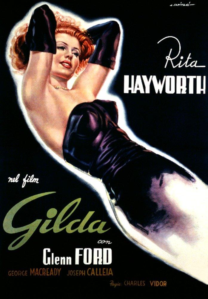 Gilda – リタヘイワースヴィンテージポスター(アーティスト: Capitani )イタリア 36 x 54 Giclee Print LANT-59445-36x54 36 x 54 Giclee Print  B01MDPT3W2
