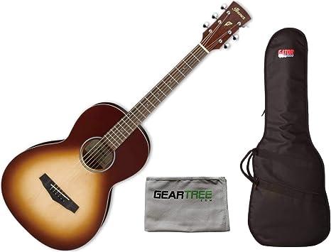 Ibanez PN19 ONB - Guitarra acústica con poro abierto, color marrón ...