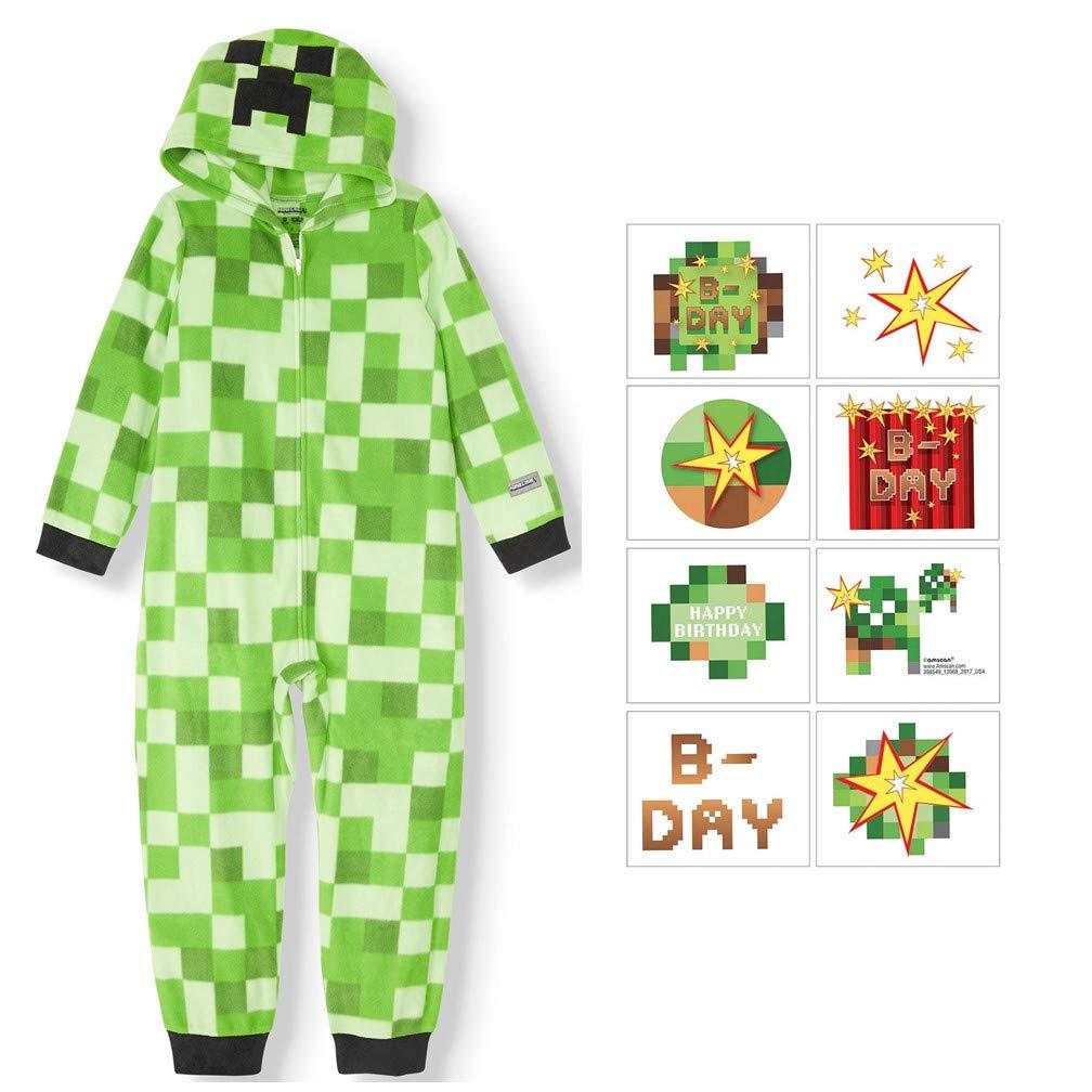 Amazon.com: AME Pijamas de una sola pieza para niños, con ...