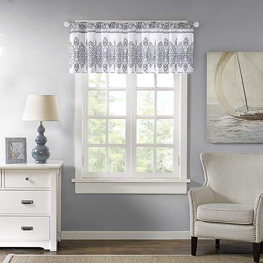 Harbor House Sanibel Cotton Window Valance Blue 50×20