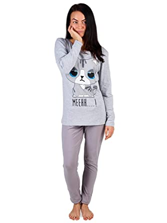 Pijama Mujer Chica 100% Algodón Set Mickey Mouse Minnie Mad Catz ...