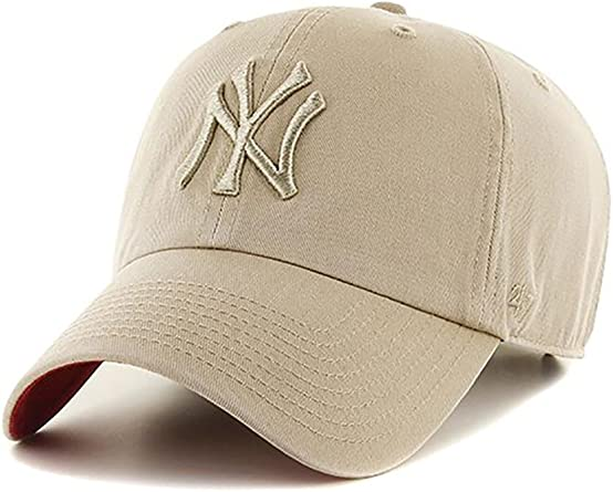 Gorra 47 Brand – Mlb New York Yankees Clean Up Curved V Relax Fit ...