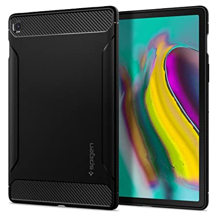 Spigen Rugged Armor Designed for Samsung Galaxy Tab S5e Case (2019) - Matte Black
