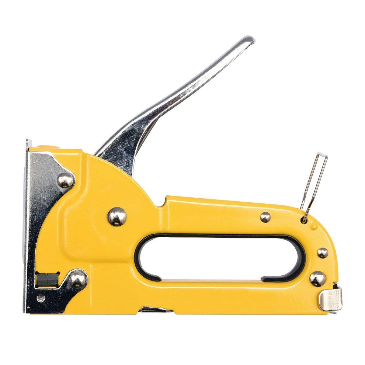Metall Handtacker Hefter 4-8 mm Nagler Klammern Schnellnagler
