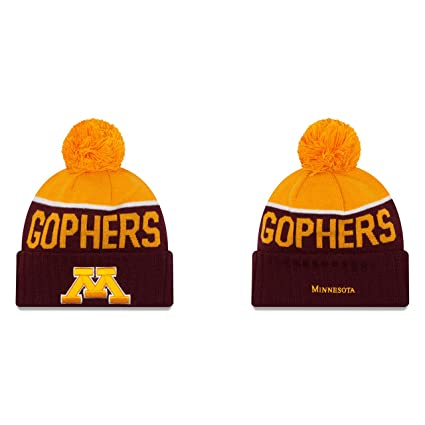 83e1263b Amazon.com : Minnesota Golden Gophers New Era NCAA Red/Gold Adult ...