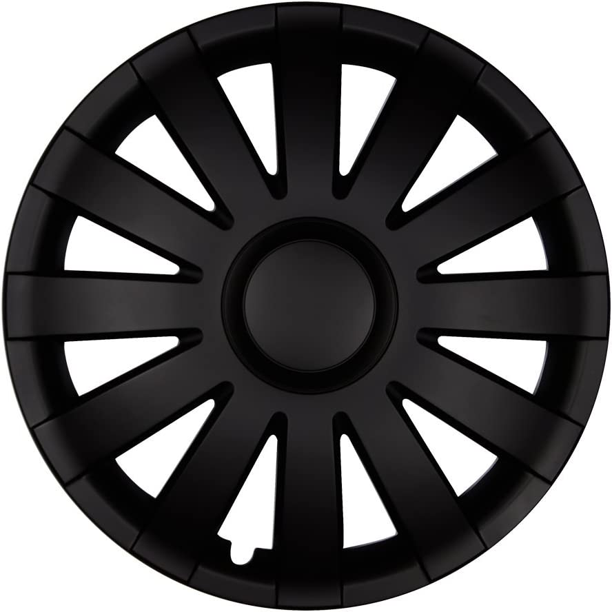 Autoteppich Stylers 15 Zoll Radkappen Onyx Wei/ß Farbe und Gr/ö/ße w/ählbar!