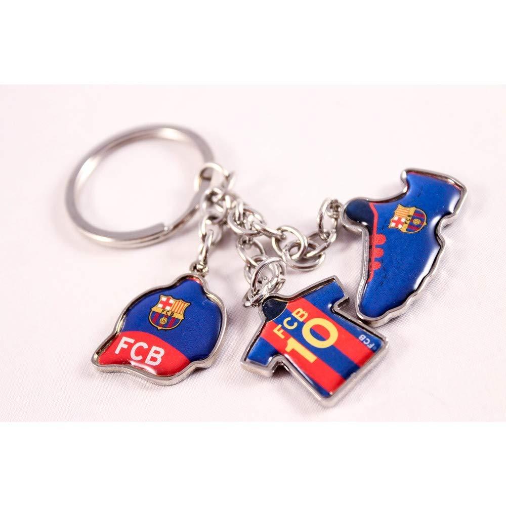 Llavero Oficial FC Barcelona 3 Piezas