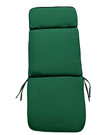 Prime Garden Furniture Cushions Green Recliner Chair Cushion 116X48X6Cm 3 Section Headrest Seat And Back For Large Garden Armchairs Creativecarmelina Interior Chair Design Creativecarmelinacom